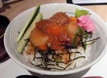 ワダツミの海鮮丼!なんばスカイオのフードコートで食べるランチ!