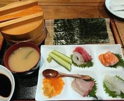 海千山千番長なんばGEMS 手巻き寿司セット