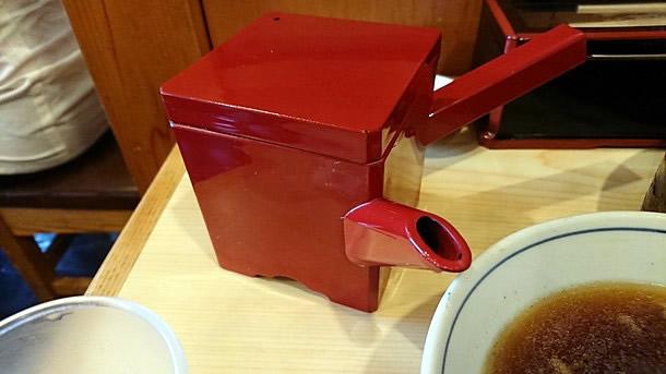 角平 蕎麦湯