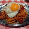 スパゲティのパンチョ ナポリタン目玉焼き