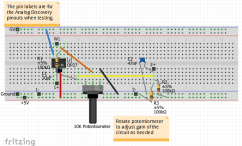 Offset Circuit Fritzing