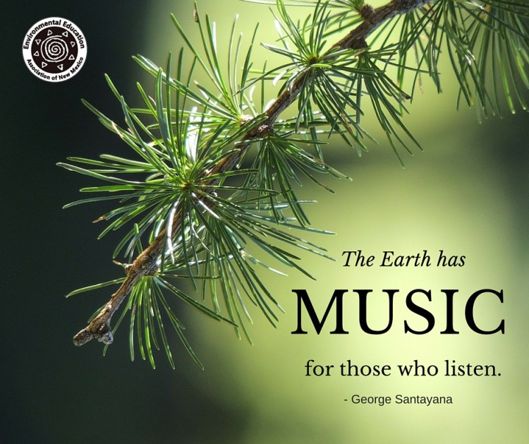 Santayana on the music of the Earth