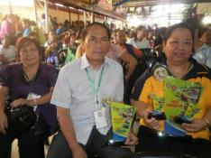 Mrs. Arsenia C. Lara, EPS (L) Mr. Joven M. Valencia, Chief, EED (C) Mrs. Victoria R. Mayo, EPS (R
