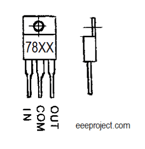 78xx voltage regulator ic