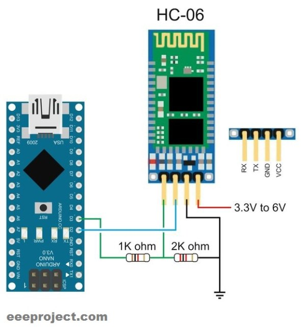 wireless display with arduino and bluetooth hc-05 module