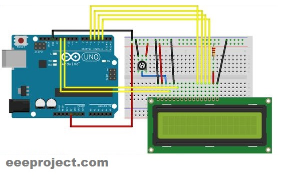 wireless display with arduino and bluetooth