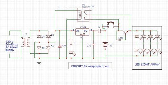 Automatic emergency light working principle and application automatic emergency light working principle and application ccuart Images