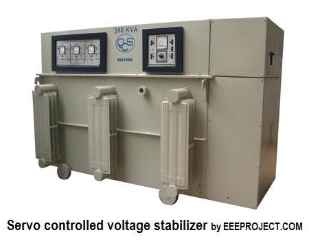 Servo controlled voltage stabilizer and its Advantage