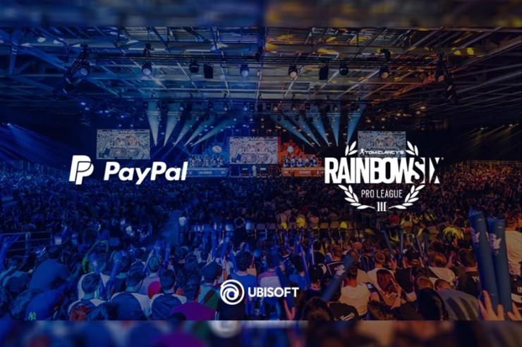Ubisoft and PayPal Renew Partnership for Rainbow Six Esports Tournament