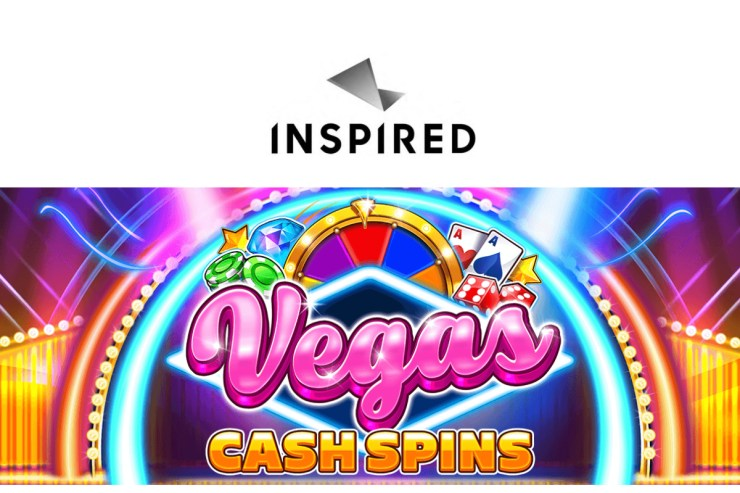 Inspired launches Vegas Cash Spins - a classic Las Vegas-themed slot game