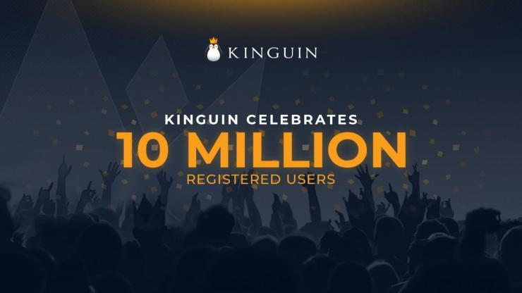 Kinguin, the world's first digital marketplace for gamers, celebrates 10 million customers worldwide