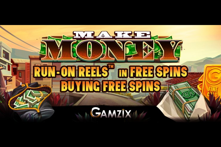 Gamzix presents its new game - Make Money