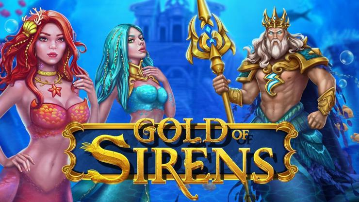 Evoplay launches gripping new adventure in Gold of Sirens