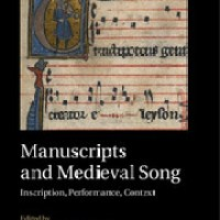 New Book: Manuscripts and Medieval Song