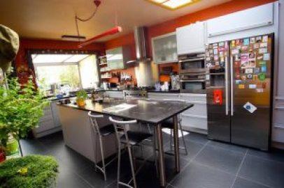 Keuken waar Koocursus Een Beetje Beter doorgaat.