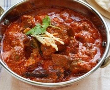 Simpele, huiselijke Curry