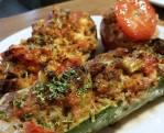 Gevulde Courgette met Tomaat en Gehakt