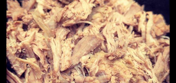 Pulled Pork uit Slowcooker