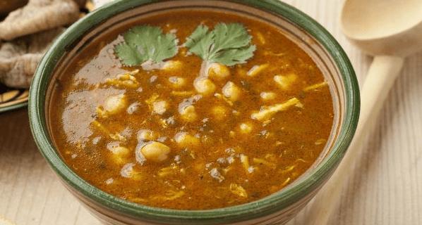 Harira (Marokkaanse soep) uit Thermomix