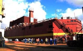 Россия запустила единственную в мире плавучую атомную электростанцию