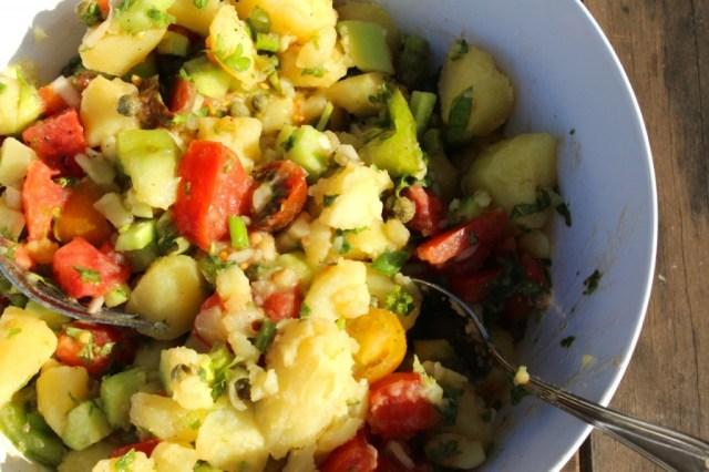 Zuiderse aardappelsalade