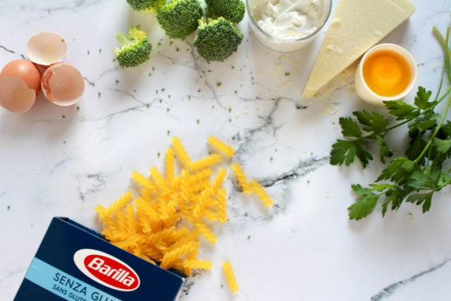 Barilla fusilli met broccoli, worst en pecorino - www.eenlepeltjelekkers.be