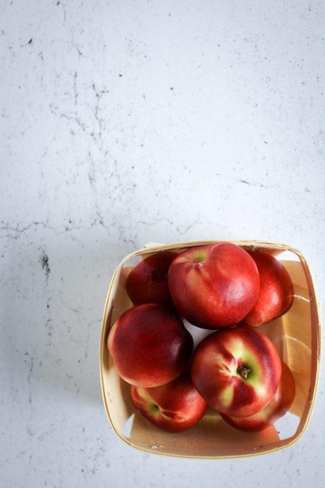 Nectarines / www.eenlepeltjelekkers.be