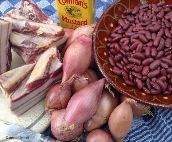 ingrediënten Boston baked beans | Een tafel vol