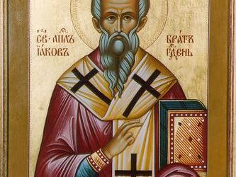 October 23, 2016 23rd Sunday after Pentecost, Octoechos Tone 6; The Holy Apostle and Brother of the Lord in the Flesh James