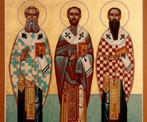 January 30, 2017 Three Holy Hierarchs, Basil the Great, Gregory the Theologian, and John Chrysostom