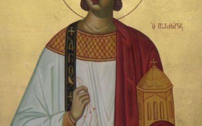 "Wednesday, December 27, 2017; Post-feast of the Nativity of Christ; the Holy Apostle, First Martyr and Archdeacon Stephen; Our Venerable Father and Confessor Theodore the ""Branded One"" (844)"