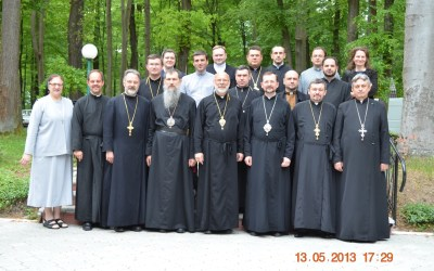 Vibrant Parish meeting in Ukraine