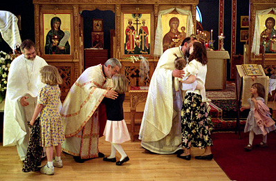 Restoration of the Liturgical Practice of the KISS OF PEACE in the Divine Liturgy (ENG/UKR)