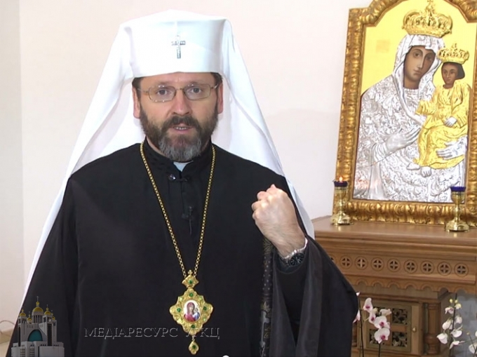 His Beatitude Sviatoslav's Speech During his Visit to the Metropolitan Andrey Sheptytsky Institute