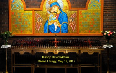 Bishop David: Divine Liturgy in Calgary – St. Stephen Parish – May 17, 2017
