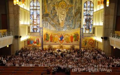 Photos: Opening Divine Liturgy for Ukrainian Bilingual Schools in Edmonton and Area