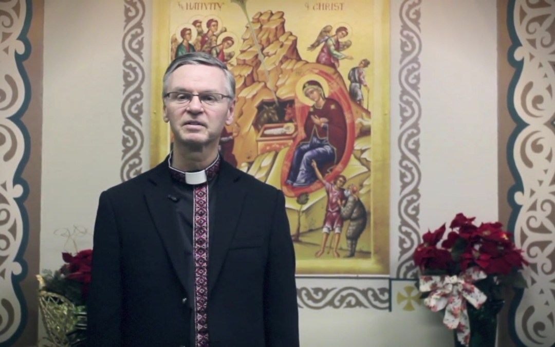 VIDEO: Bishop David's Nativity Greeting 2016 (ENG)