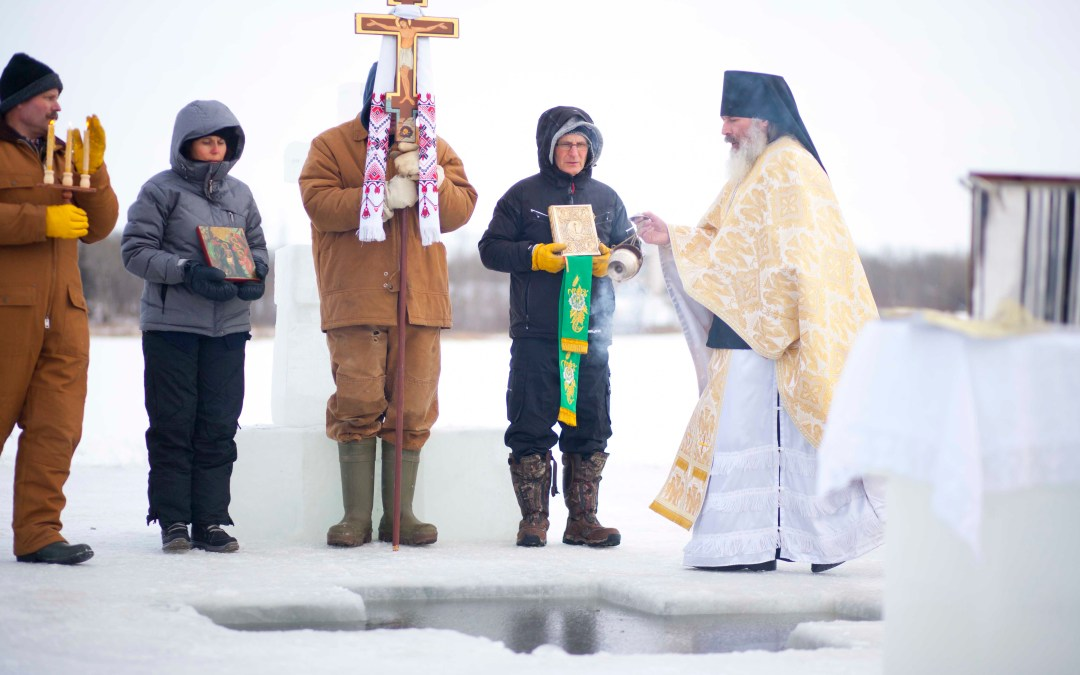 VIDEO: Theophany Great Water Blessing 2017 at the Skete of the Universal Exaltation of the Cross