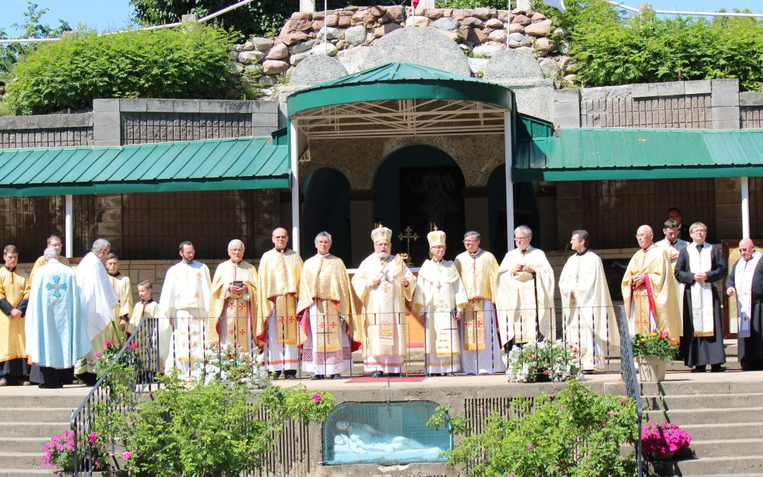 Mundare Praznyk and Pilgrimage Marks Several Key Anniversaries: Tributes to Basilians, SSMI and Canada 150