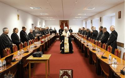 Photos: Synod of Bishops September 3-12, 2017; Lviv, Ukraine