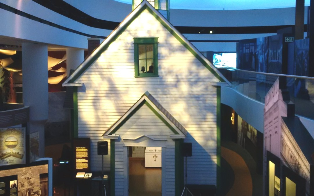 Historic Alberta church rededicated at Canada's history museum