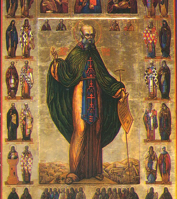 December 05; Our Venerable and God-Bearing Father Sabbas the Sanctified