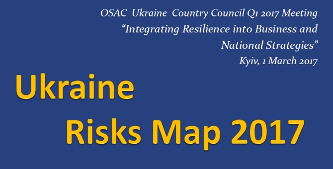 Assessment of the Risks Environment for Doing Business in Ukraine