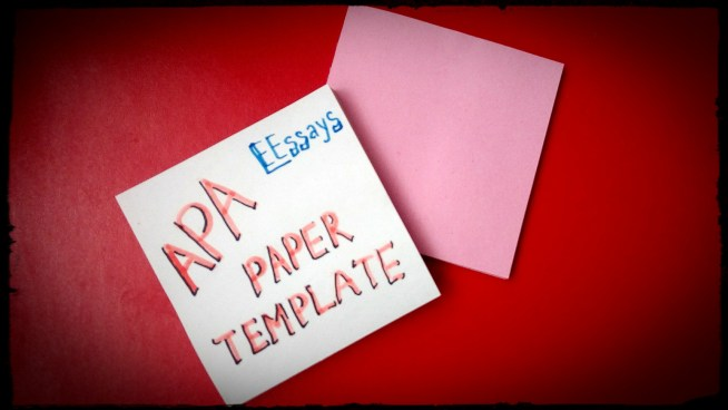 APA Paper Template with Formatting Details and Writing Tips