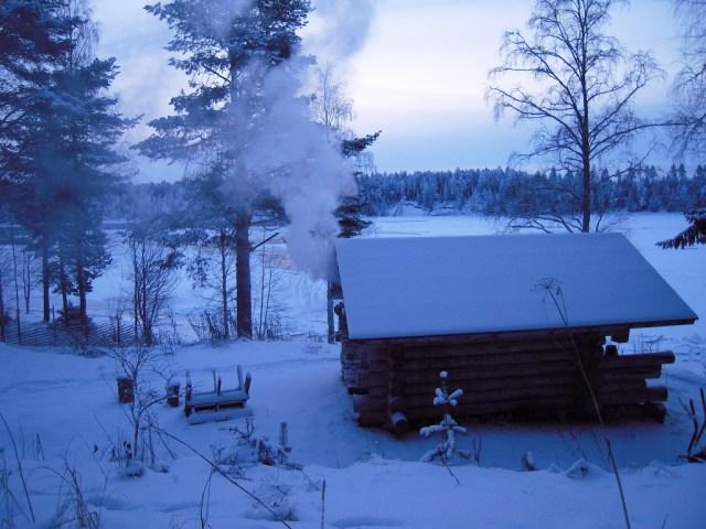 Täna tehakse Soomes jõulusauna
