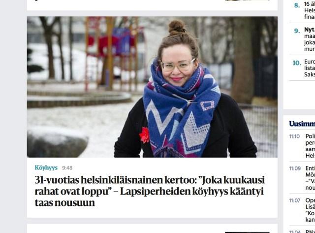 Lastega pered vaesuvad Soomes: kuu lõpus pole enam raha