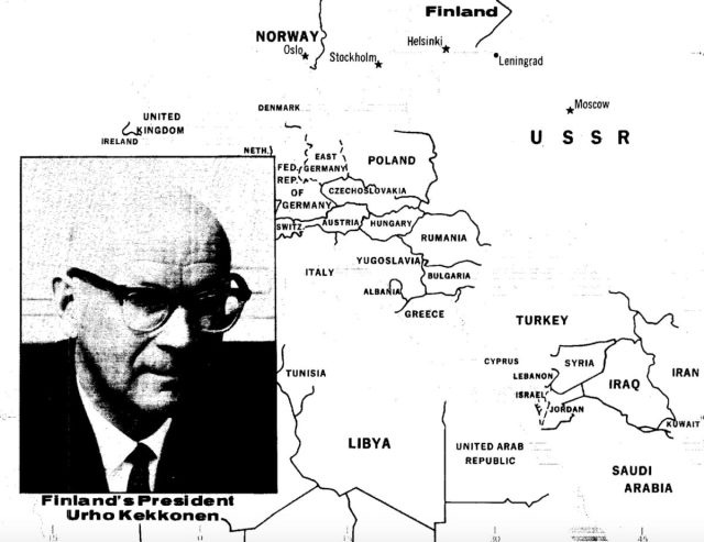 CIA dokumendid paljastavad infot Kekkoneni kohta