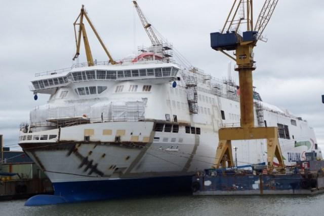 Turu laevatehasele määrati koroona tõttu kohustuslik tervisekontroll