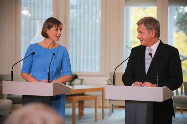 Eesti president on visiidil Soomes