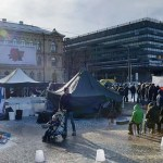 Migrandid panid Helsingisse püsti uue laagri, politsei ajas selle laiali